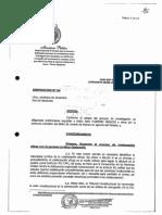 Denuncia contra Pedro Chávarry por encubrimiento - fiscal Pérez