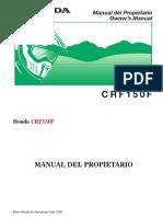 crf150f manual