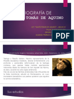 Biografía de Santo Tomás de Aquino