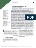 Anatomy Microquirúrgica de La Cisterna Oculomotor