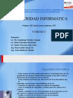 Unidad 2 Seguridad Informatica