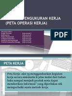 Analisa Pengukuran Kerja (Peta Operasi Kerja) 5-1