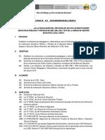 Directiva de Fin Integrada 2018