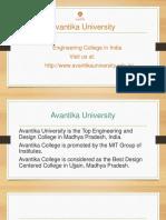 Engineering Colleges in India - Avantika University
