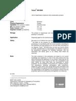 Data Sheet Tamol NN 8906