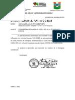 OFICIO y RD Cuadro de Horas 2019 Diciembre Aychana 2018