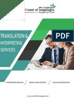 Translation and Interpretation Services in USA