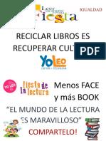 Reciclar Libros Es Recuperar Cultura