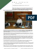 Burma Update 2 - 18 Oct 2010
