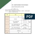 108年度一年期北區一般醫學訓練選配說明會-會議手冊