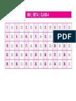 Imo Set-A Answer Keys Class-4
