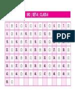 Imo Set-A Answer Keys Class-6