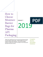 How to Choose Moisture Barrier Bags for Pharma API Packaging - https://ldpebag.com/