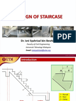 Lecture 1 Design of Staircase