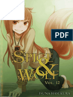 Spice and Wolf Novela Ligera 12 Completo Espanol