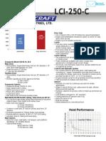LCI 250SpecSheet