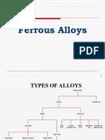 Ferrous & Non Ferrous Alloys