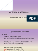 AI Unit 2 Algorithms