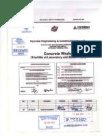 1000-211-V8-0000-01003 Concrete Works (Trial Mix)