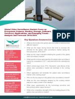 Global Video Surveillance Market