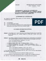 Annexe Fiscale 2018