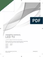 42la640v Owners Manual
