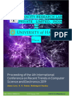 International Conferece on Computer Science RTCSE 2019