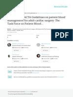 2017EACTS-EACTAGuidelinesonpatientbloodmanagementforadulatcardiacsurgery