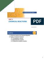 Unit 3 Chemical Rxns