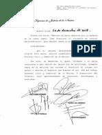 Pedido de excarcelación en el marco de una causa por corrupción de José López.