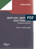 Drept Civil Drepturi Reale Principale Corneliu Birsan 2015