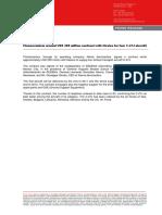 Contrato Sedena Finmeccanica