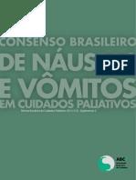 CONSENSO BRASILEIRO DE NAUSEA E VOMITOS EM CUIDADOS PALIATIVOS