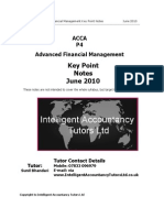 ACCA+P4+Key+Point+Notes+June+2010
