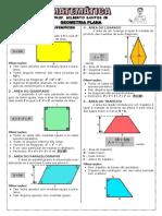 Apostila Geometria Plana - Áreas (7 Páginas, 33 Questões)