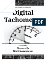 Report- VHDL Tachometer