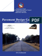 DoR Pavement Design Guidelines