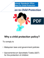 For Translation Introduction to Child Protection (PSO) 2018