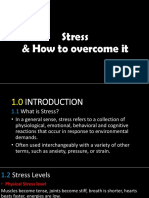 Stress and How to Overcome It