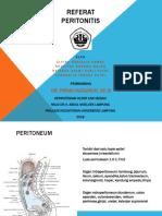 PPT Referat Peritonitis