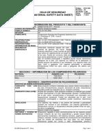 Dimetcote 9 FT- Polvo MSDS