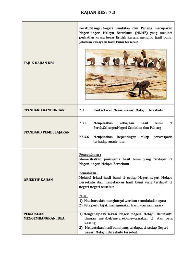 Kajian Kes 7 3 Pentadbiran Negeri Negeri Melayu Bersekutu