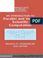 Shonkwiler R., Lefton L. An introduction to parallel and vector scientific computing (CUP, 2006)(ISBN 052186478X)(303s)_CsAl_.pdf