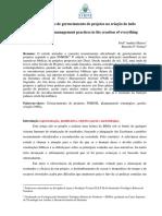 Boas Práticas de Gerenciamento de Projetos Na Criação de Tudo [Marcelo P. Freitas]