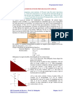 Problemas Resueltos de Programacion Lineal