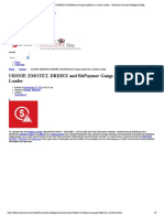 URSNIF, EMOTET, DRIDEX and BitPaymer Gangs Linked by a Similar Loader