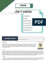 Vision y Mision UNAM