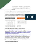Consolidación de SAP