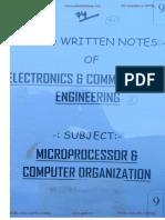 EC_9.MicroProcessor & Computer Organisation
