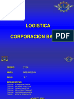 Expo 2003 Logistica BACKUS